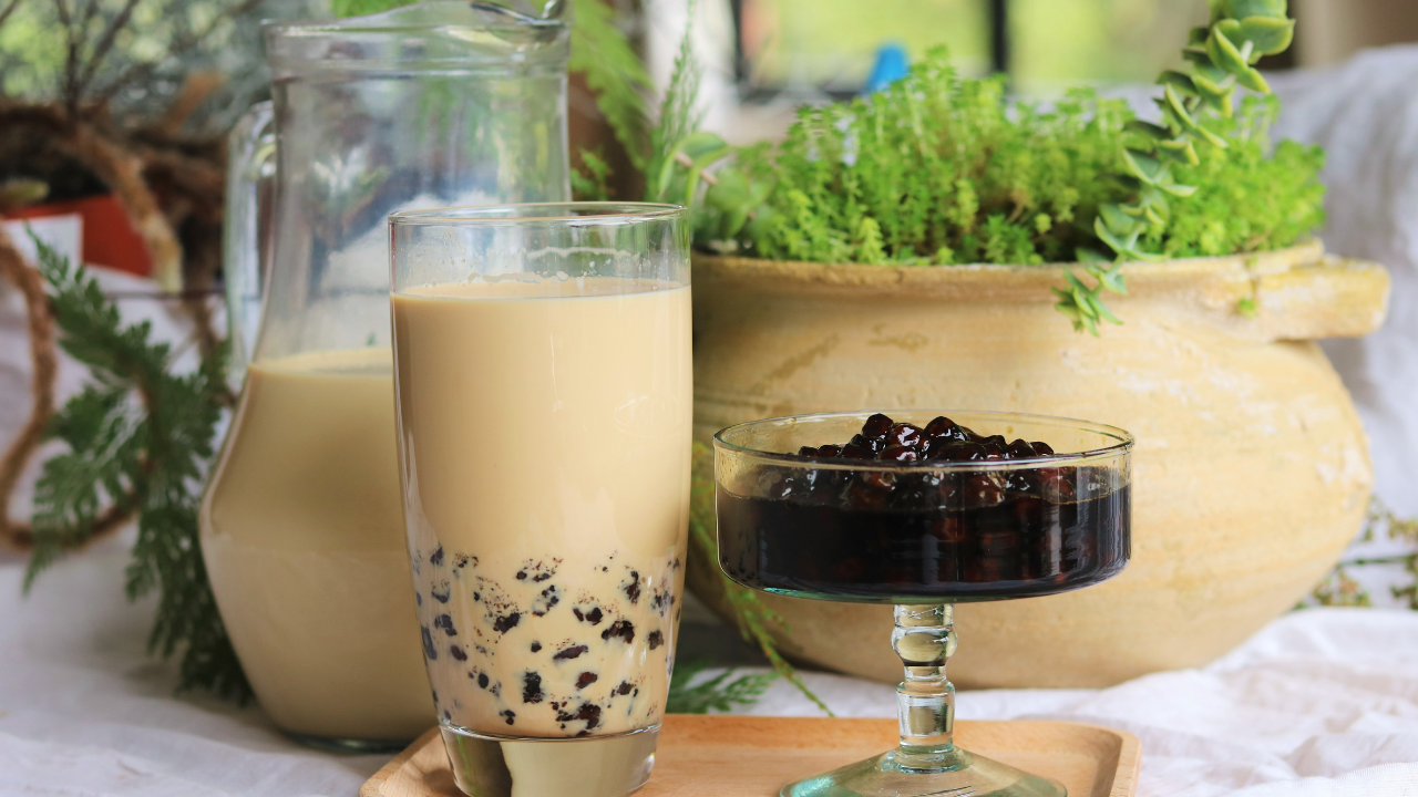 Bubble Milk Tea Recipe Souped Up Recipes