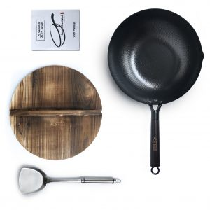 Wok Lid and Wok Spatula Included